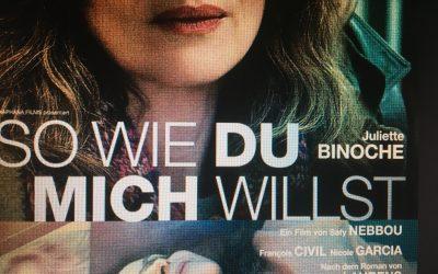 Ursula Scheidle spricht: VOICE OVER: Juliette Binoche