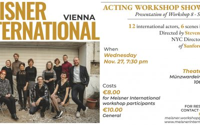 Scheidle spielt: ACTING WORKSHOP SHOWCASE – sechs Szenen in English